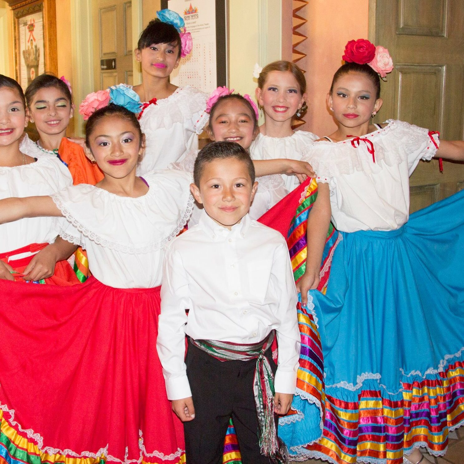 Young Folkloric Dancers at Arena Theater