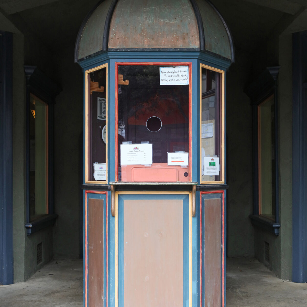 Arena Theater Kiosk