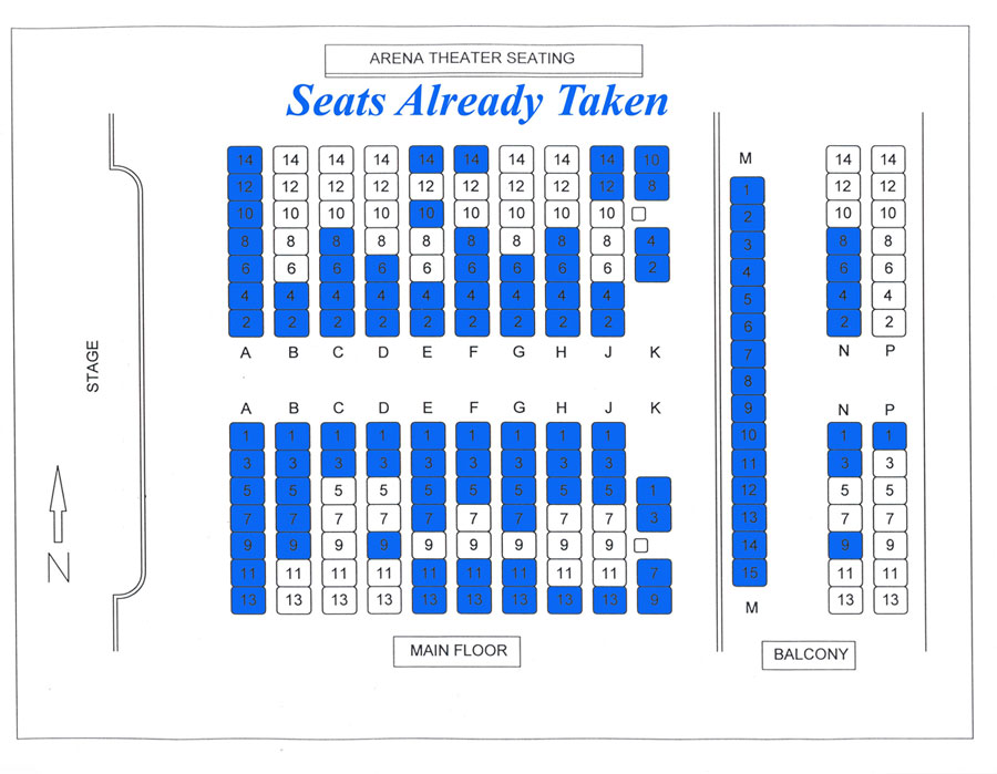 have a seat diagram