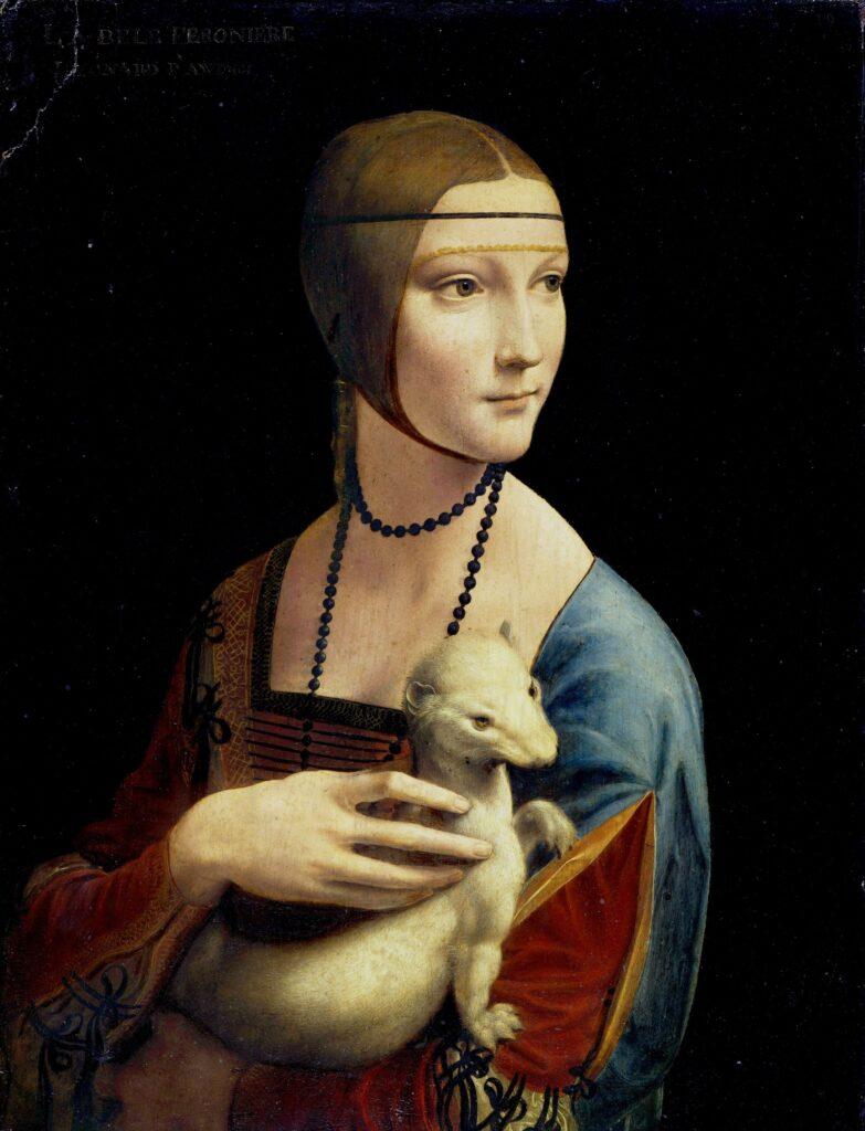 Leonardo da Vinci Cecilia Gallerani telecast at Arena Theater
