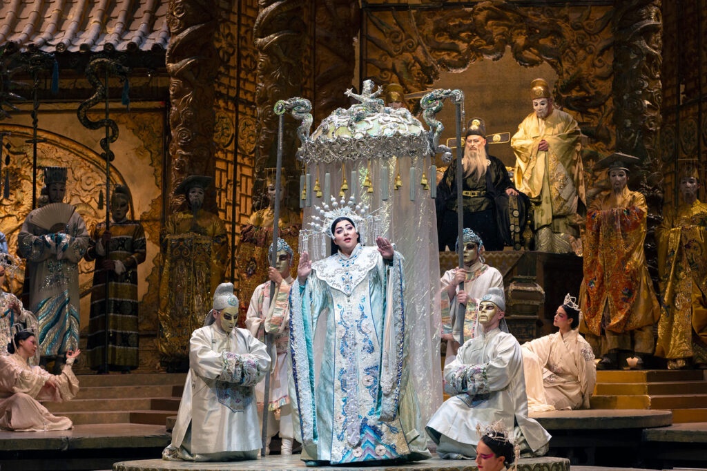 Turandot Met Opera Live in HD telecast at Arena Theater