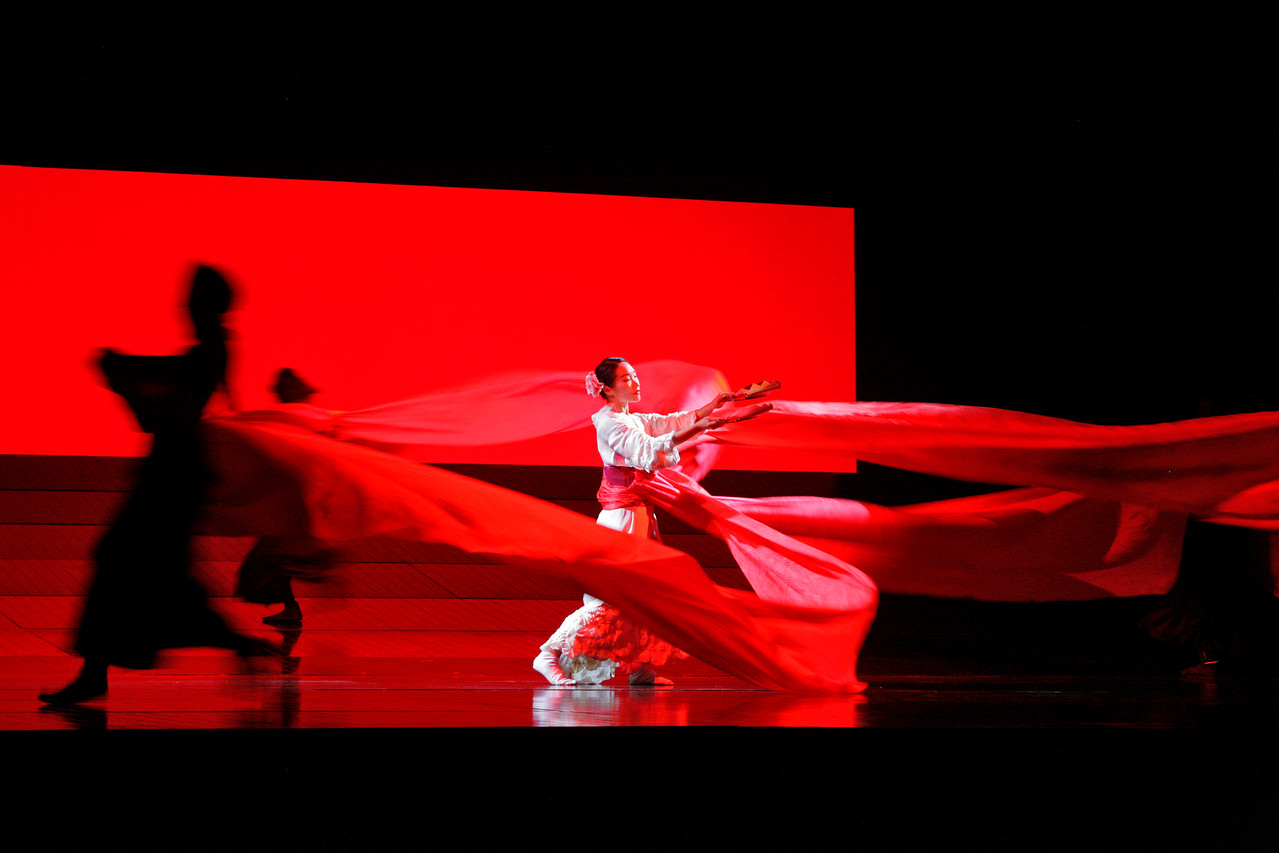 Madama Butterfly opera at Arena Theater