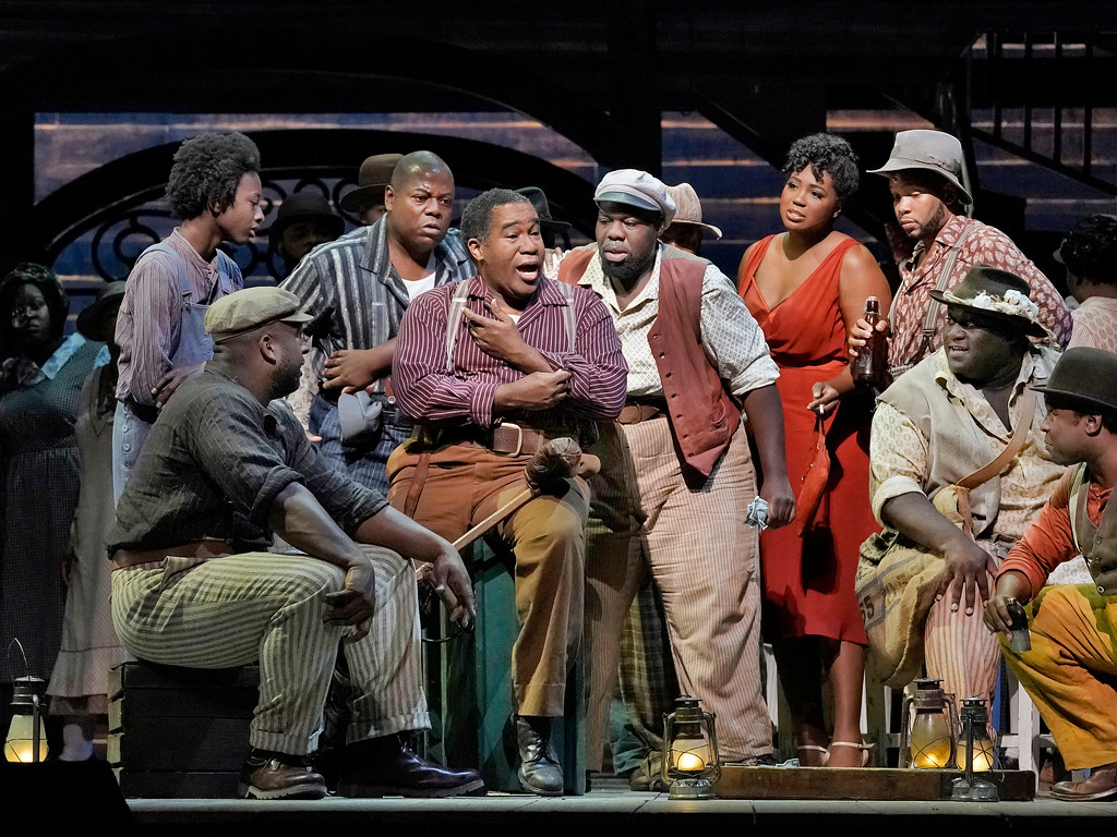 the gershwins' Porgy and Bess at Arena Theater